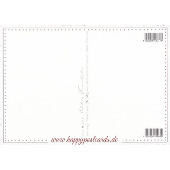 Wien, Fiaker - Tausendschön - Postkarte