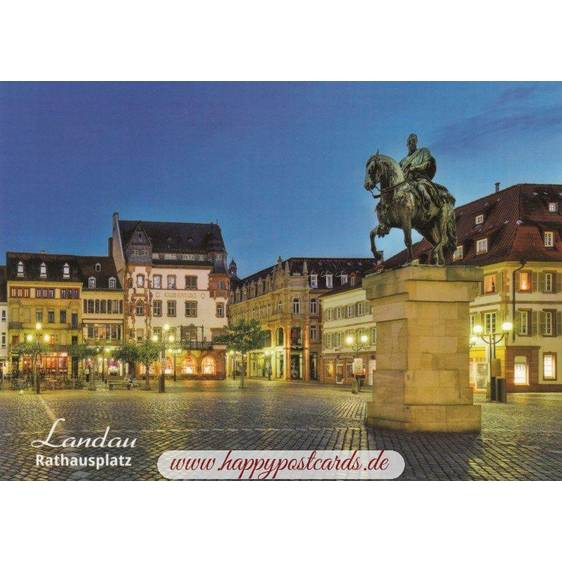 Landau - Palatinate - Viewcard