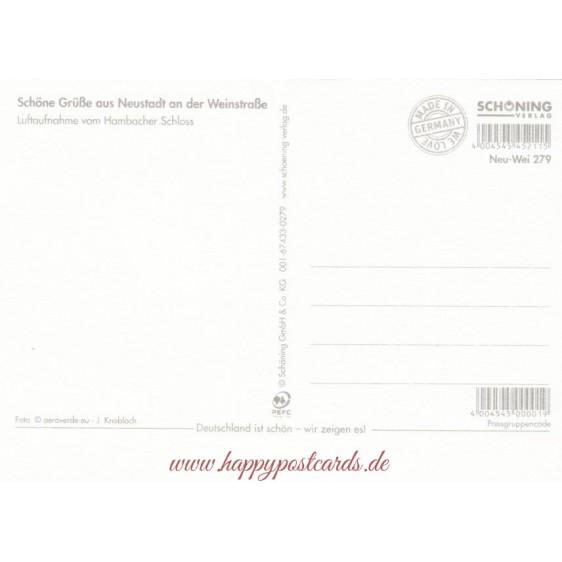 Neustadt - Hambacher Schloss - Ansichtskarte