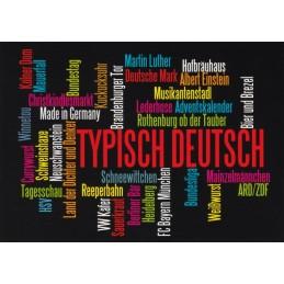 Typisch Deutsch - Viewcard