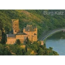 Burg Katz 2 - Ansichtskarte