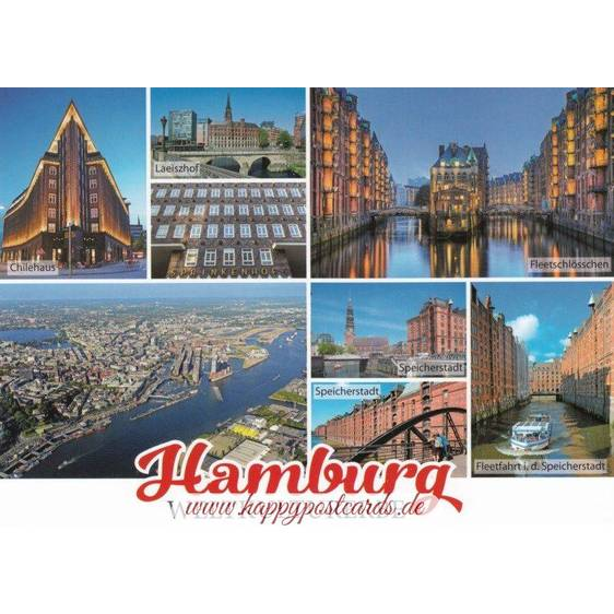Hamburg Multi - Viewcard
