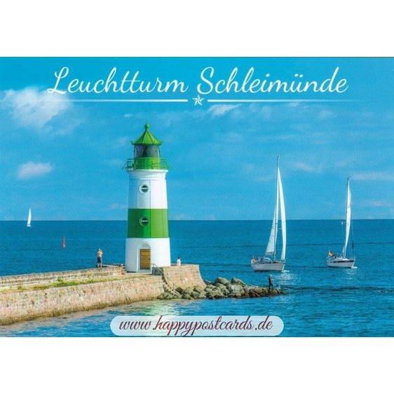 Lighthouse Schleimünde - Day - Viewcard
