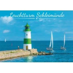 Lighthouse Schleimünde - Day - Viewcard