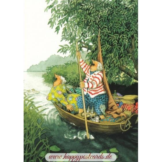 28 - Frauen im Boot