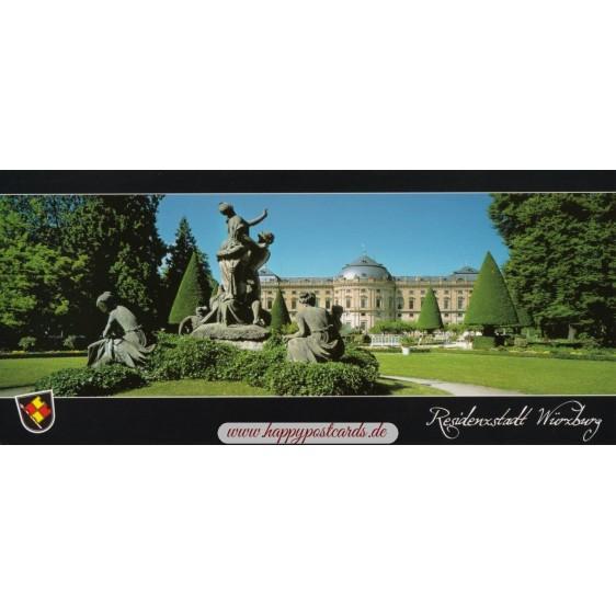Würzburg - Residenz - Hofgarten Postcard