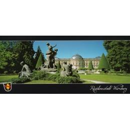 Würzburg - Residenz - Hofgarten Ansichtskarte