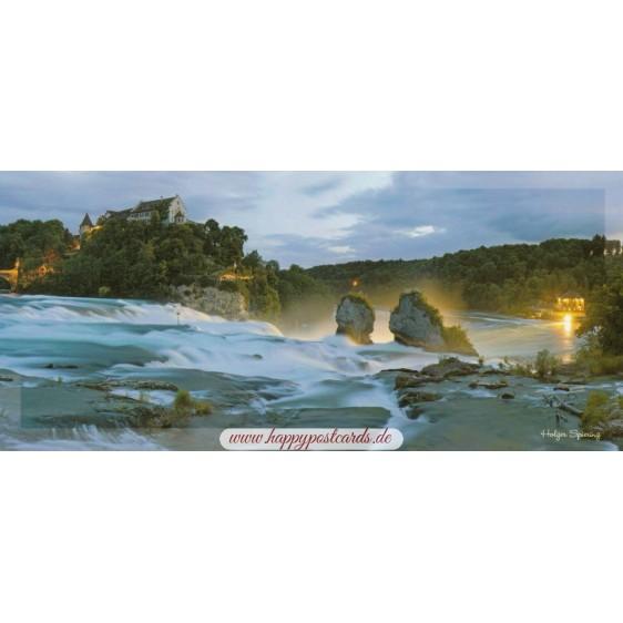 Bodensee - Schaffhausen - Panoramacard