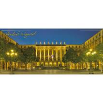Wuppertal - Town hall - Panoramapostcard