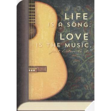 Life Song - Love Music - BookCARD