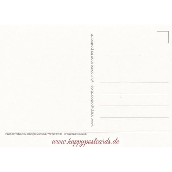Kuscheliges Zuhause - Garmashova Postkarte