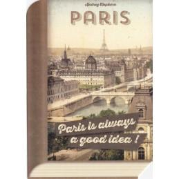 Audrey Hepburn - Paris - BookCARD