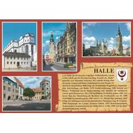 Halle - Chronicle - Viewcard
