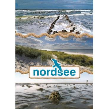 Wattenmeer - Ansichtskarte