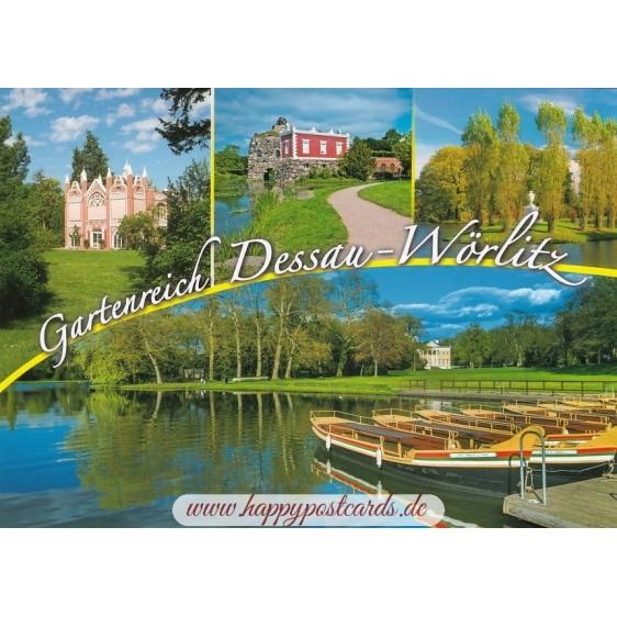 Gartenreich Dessau-Wörlitz - Ansichtskarte