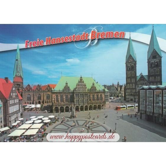 Bremen Rathaus - Ansichtskarte