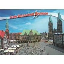 Bremen - Town Hall - Viewcard