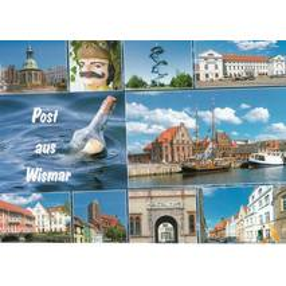 Post aus Wismar - Ansichtskarte