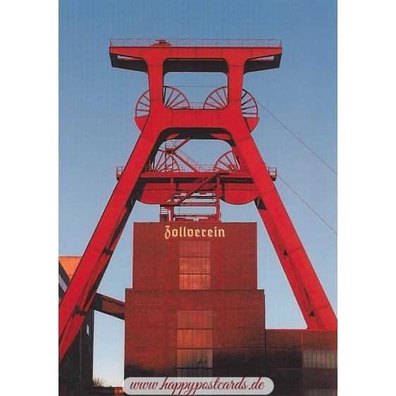 Essen - Zeche Zollverein - Viewcard