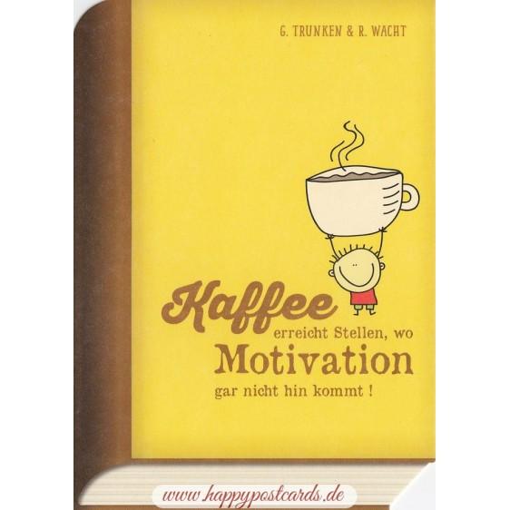Kaffee-Motivation - BookCARD