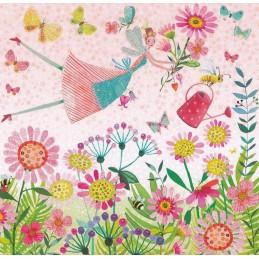 Blumenelfe - Mila Marquis Postkarte