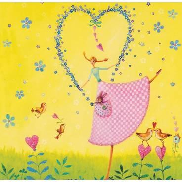 Tanz mit Herz - Mila Marquis Postkarte
