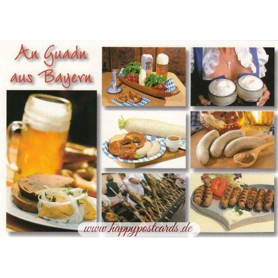 Enjoy your Meal! - Bavaria - Viewcard