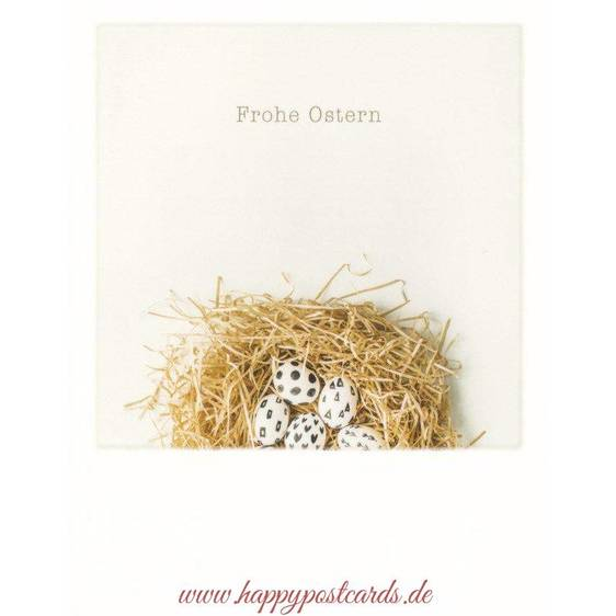 Frohe Ostern - PolaCard
