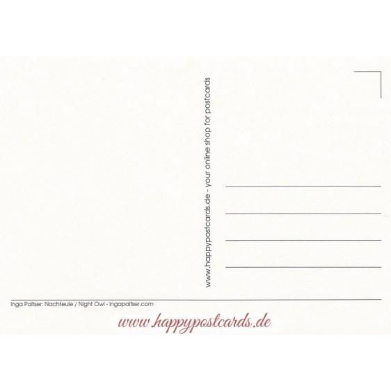 Nachteule - Paltser Postkarte