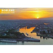 Koblenz - Deutsches Eck - Viewcard