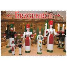 Erzgebirge - Wood craft - Viewcard