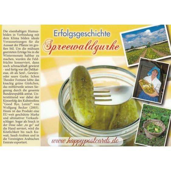 Spreewaldgurke - Chronik - Ansichtskarte
