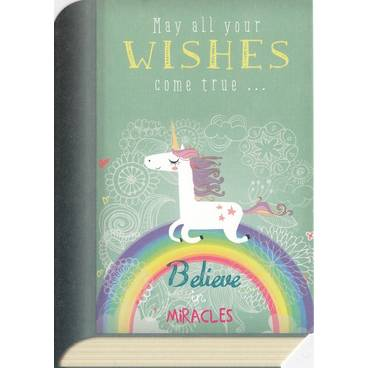 Unicorn Wishes - BookCARD