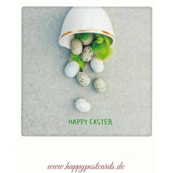 Happy Easter - PolaCard