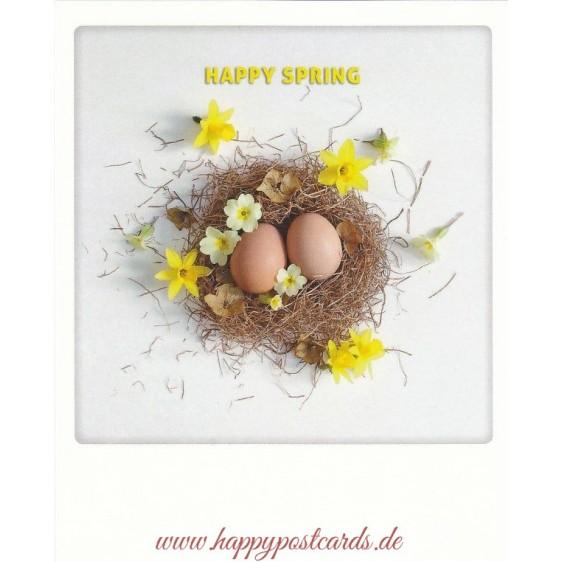 Happy Spring - PolaCard
