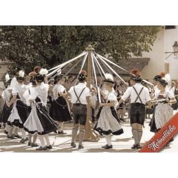 Bayern Volkstanz - Ansichtskarte