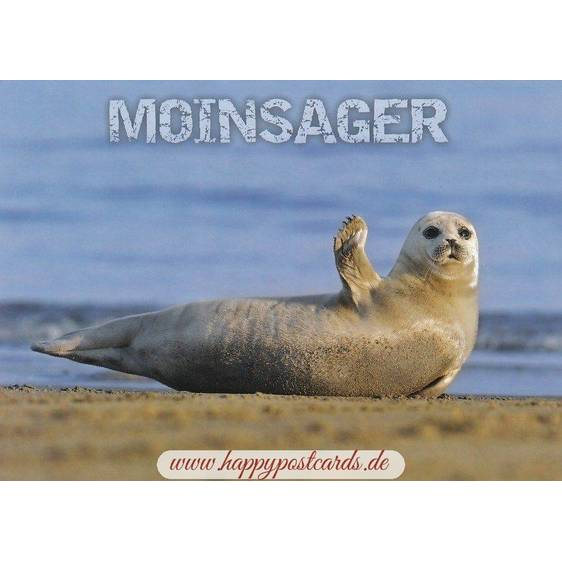 Seal - Moinsager - Viewcard