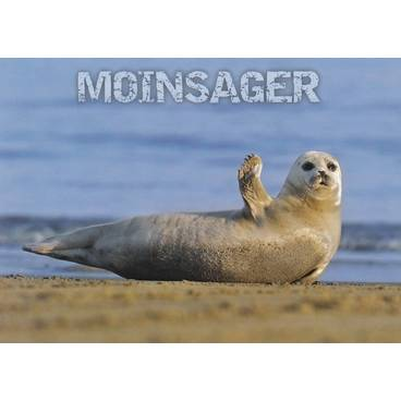 Robbe - Moinsager - Ansichtskarte