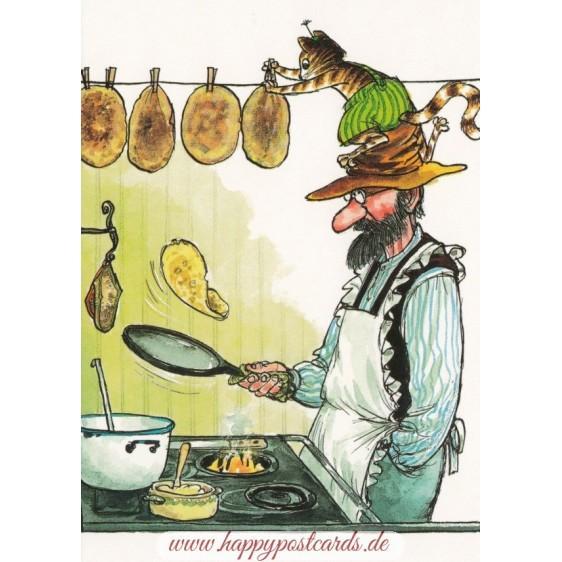 Pfannkuchenbacken