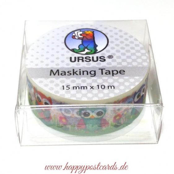 Washi Tape - Eule - Masking Tape