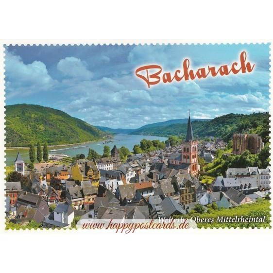 Bacharach - Viewcard