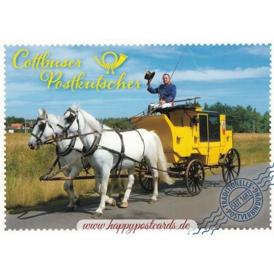 Cottbuser Postkutscher - Ansichtskarte