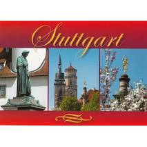 Stuttgart Collegiate Church - Viewcard