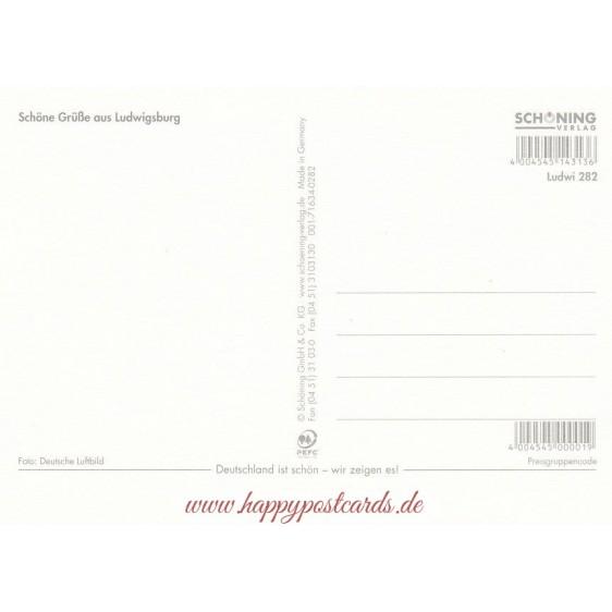 Castle Ludwigsburg - Viewcard