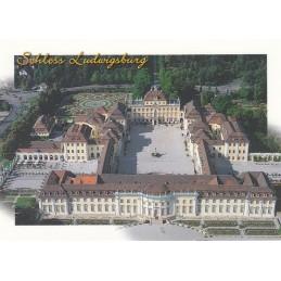 Schloss Ludwigsburg - Ansichtskarte