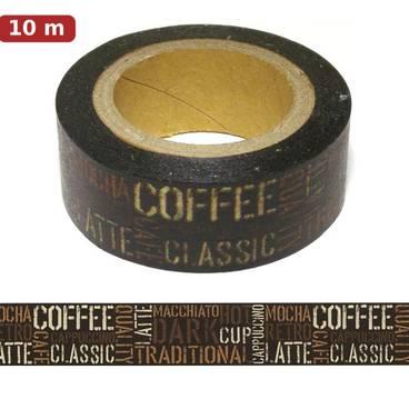 Washi Tape - Coffee - Masking Tape
