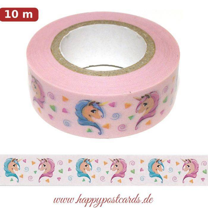 einhorn washi tape masking tape