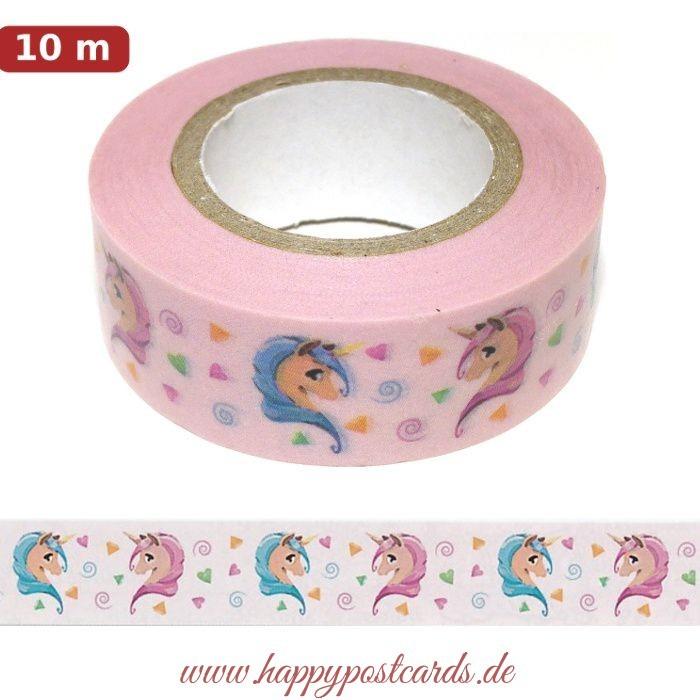 masking tape unicorn washi tape masking tape ursus buntfabrik ludwig b hr. Black Bedroom Furniture Sets. Home Design Ideas