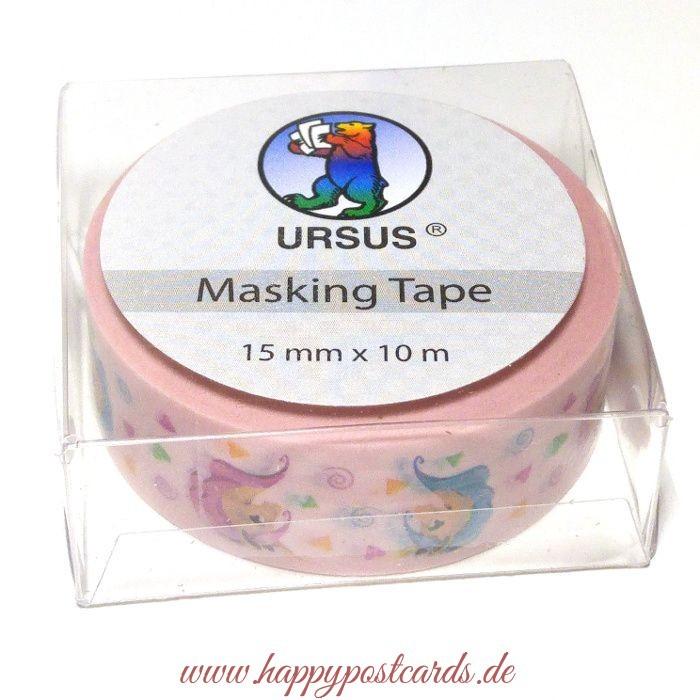 washi tape einhorn washi tape masking tape ursus. Black Bedroom Furniture Sets. Home Design Ideas