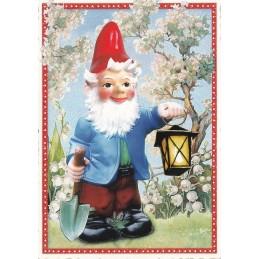 Garden gnome - Tausendschön - Postcard